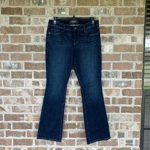 Torrid Dark Wash Slim Bootcut Jeans Size 12